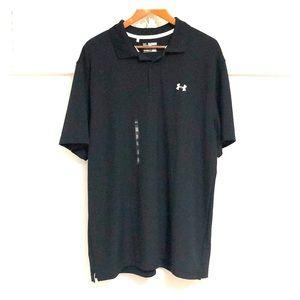 UNDER ARMOUR Men's HeatGear Golf Shirt
